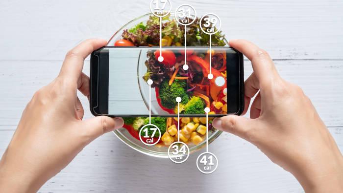 Eine Ernährungs-App hilft, das richtige zu essen
