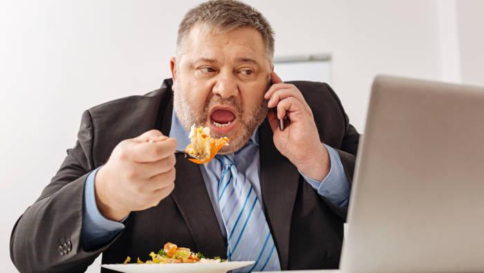 Stress und Essen - so wird man dick